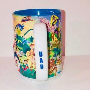 Walt Disney World Authentic 3D Character DAD Mug